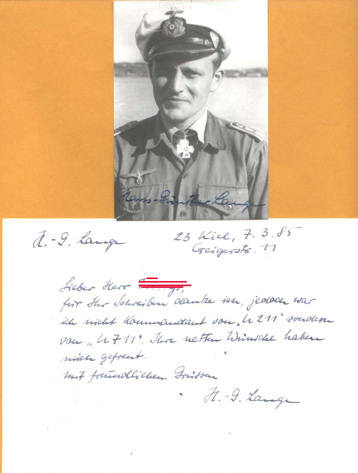 Military Autographs